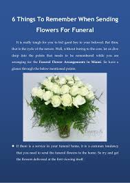 Flowers For Funeral 6 Things To Remember When Sending Flowers For Funeral