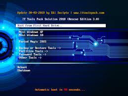 cara membuat file iso dari file di hardisk rescue edition