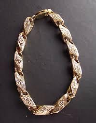 bracelet gold man silver images Men s losenger shaped patterned bracelet cast in sterling silver jpg