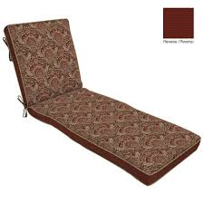 hampton bay chelsea damask welted outdoor chaise cushion nf04338b