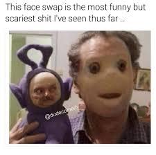 Meme Scary Face - this face swap is the most funny but scariest shit i ve seen thus