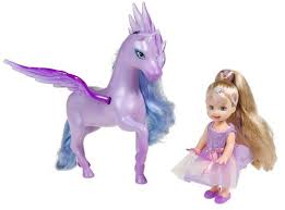 image barbie magic pegasus cloud princess lilac doll