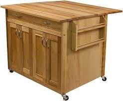 kitchen island cart with breakfast bar kitchen awesome oak kitchen island kitchen island with drop leaf