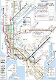 Manhatten Subway Map by Beauty Vs Usability Exploring Information Design Through Subway