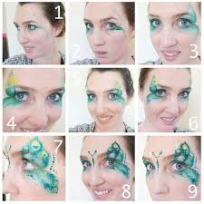best 25 peacock face painting ideas on pinterest butterfly face