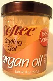 gel argan softee argan styling gel 8 oz