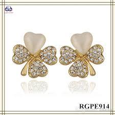 gold earring design 2018 simple gold earring designs for women flower shape earring