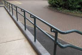 Wheelchair Ramp Handrails Ada Railings And Handrails Osha Compliant