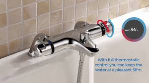 thermostatic bath shower mixer taps at willesdenbathrooms co uk thermostatic bath shower mixer taps at willesdenbathrooms co uk