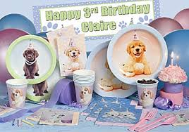 puppy party supplies decorations for a puppy party birthday party since my baby girl