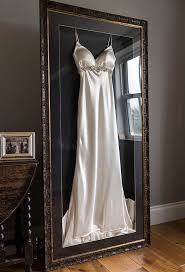 display wedding dress frame your wedding dress and accessories with the beautiful frame
