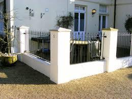 wrought iron railings metal fencing