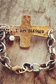 blessed bracelet i am blessed cross bracelet