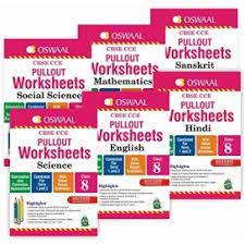 oswaal cbse cce pullout worksheet for hindi english science