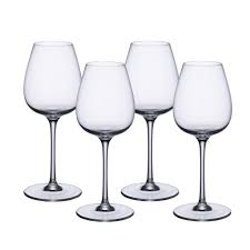 purismo intricate delicate red wine goblets s 4 villeroy u0026 boch