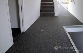 bodenbelag treppe marmorix steinteppich verlegebeispiele innenbereich