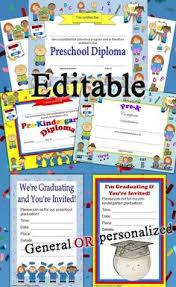 preschool graduation invitations adorable preschool graduation invitations https www etsy