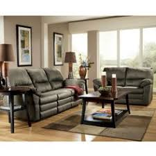 modern contemporary living room decor with olive green microfiber