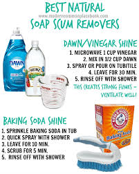 how do you get soap scum off glass shower doors tip of the week natural soap scum removers a modern commonplace