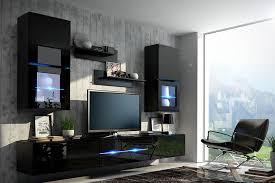 Black Living Room Furniture Uk Wall Unit Bilbao Furniture