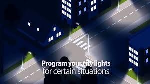 smart street lighting control system youtube