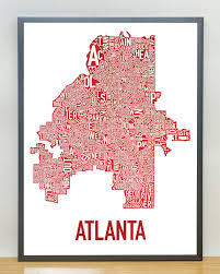 Atlanta Neighborhood Map by Atlanta Neighborhood Map 18