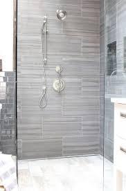 gray bathroom tile ideas gray tile shower home tiles