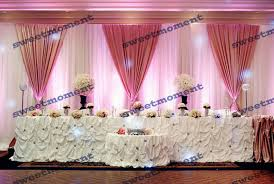 wedding backdrop drapes 3x6m luxury sheer wedding curtain with hot pink drape wedding
