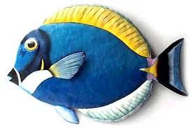 wall ideas design surgeonfish tropical fish wall