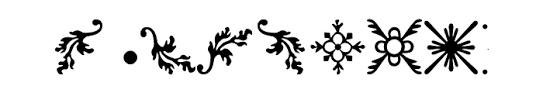 rococo ornaments 2 font whatfontis