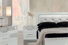 Meuble Italien Chambre A Coucher by Glamour Laque Blanc Ensemble Chambre A Coucher Lignemeuble Com