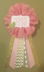 baby shower ribbons how to make the cutest baby shower corsage pink blue any color