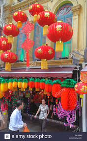 singapore chinatown new year decorations ornaments for