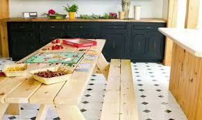 Indoor Picnic Table Embrace The Relaxed Style Of Indoor Picnic Tables Lining Shop Info