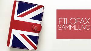 German British Flag Filofax Sammlung I The Original Union Jack Special Edition 2015 I