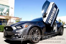 butterfly doors 2015 18 mustang vertical door kit system direct bolt on with