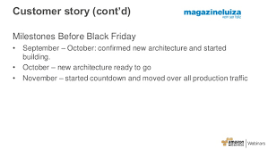 confirmed amazon black friday using aws waf and lambda for automatic protection