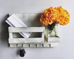 mail flowers mail organizer etsy