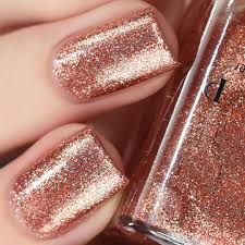 copper top is a spectacular copper colored ultra metallic nail