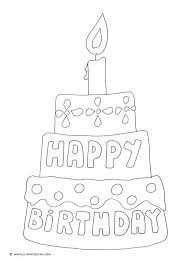 25 unique birthday coloring pages ideas kids