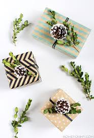 diy boxwood and pinecone gift topper homey oh my