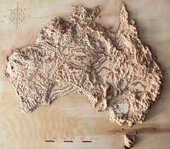 Terrain Map Of Usa by 3d Terrain Wooden Map Of Usa 16 X 24