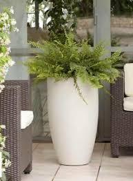 vaso resina bianco vaso resina cilindro bombato alto 70 col bianco perla grigio