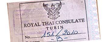 consolati thailandesi in italia il permesso di lavoro per poter lavorare in thailandia