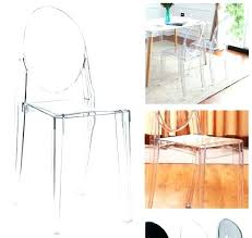 Perspex Dining Chairs Clear Chairs Cheap Medium Image For Ghost Chair 4 Clear Acrylic
