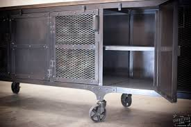 Rolling Metal Cabinet Custom Industrial 9 Foot Rolling Media Cabinet Wood U0026 Steel