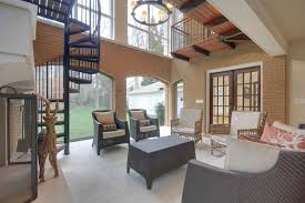 Living Room With Stairs Design Stair Ideas For Porches Hgtv