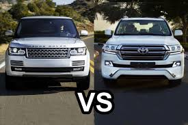2016 range rover vs 2016 toyota land cruiser 200 design youtube