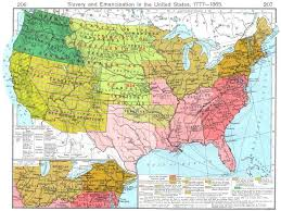 map of the us states in 1865 usa slavery emancipation us 1777 1865 region south of great