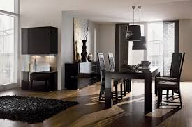 Modern Dining Room Ideas Contemporary Dining Room With Interior Wallpaper Chair Rail In